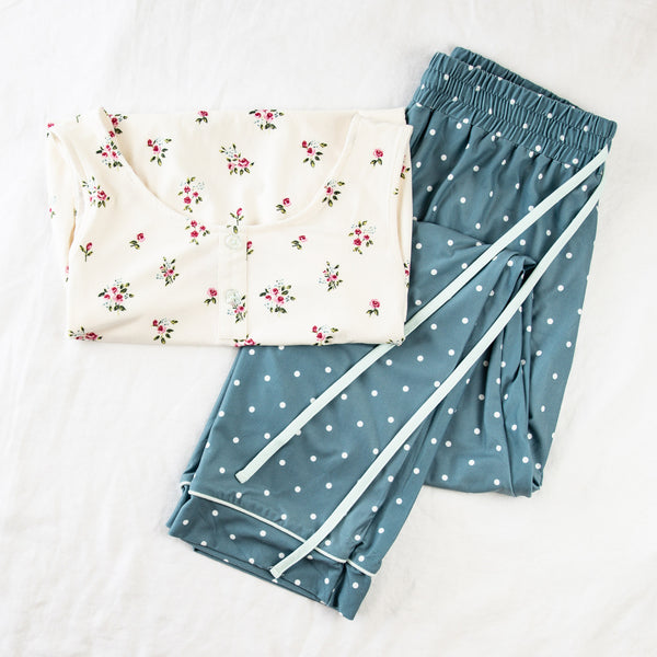 Women's Cozy PJ - Rose Bunches