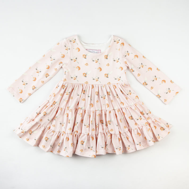 Flair Dress - Loose Spec Peach