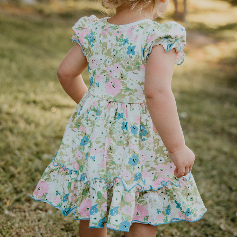 Flair Dress - Vintage Garden