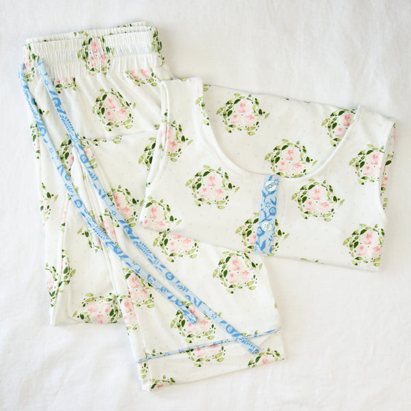 Women's Cozy PJ - Sweetly Spring