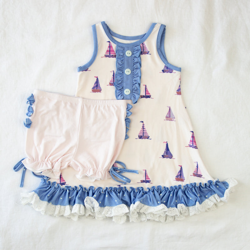 Dreamer Gown - Let's Go Sailing