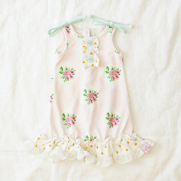 Doll Gown - Nectarine
