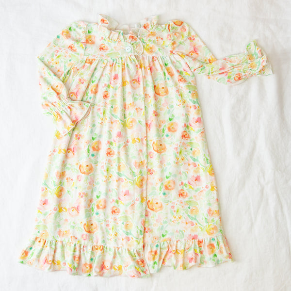 Sweet Ruffled Robe - Cheery Day