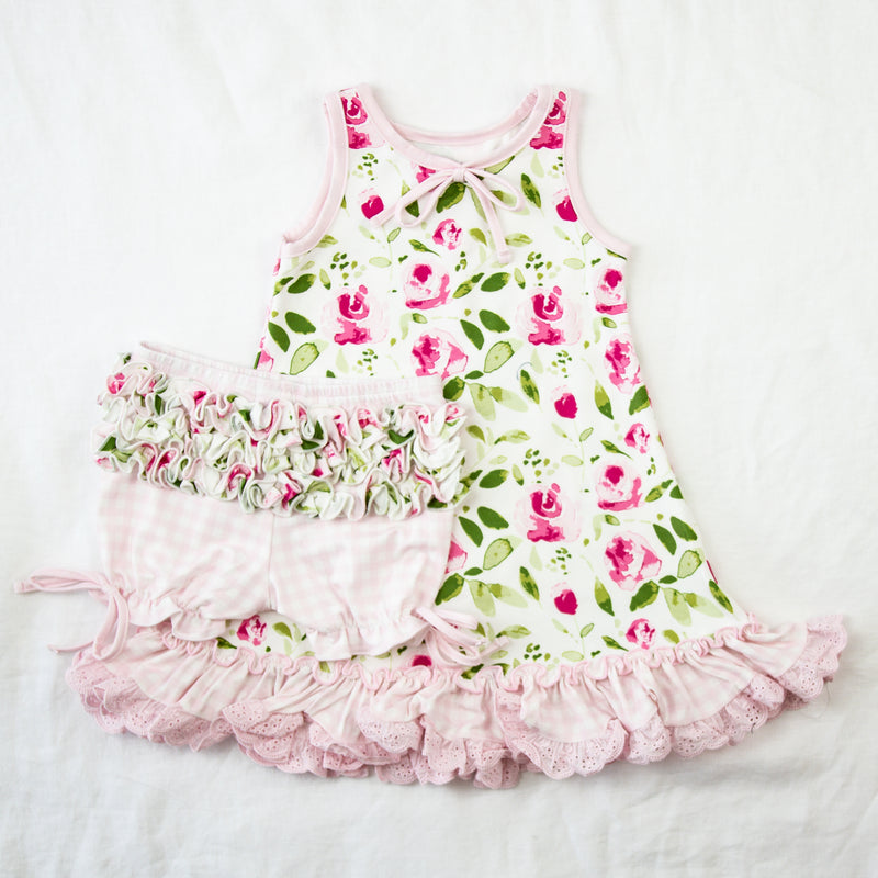 Dreamer Gown - Starbright Pink