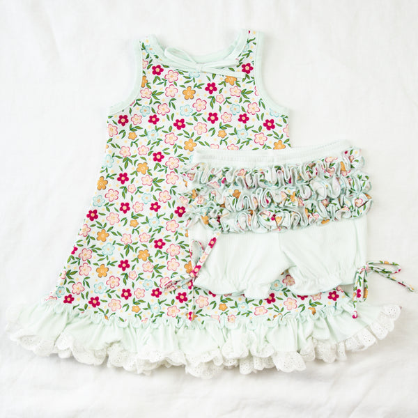 Dreamer Gown - Bubbly Floral