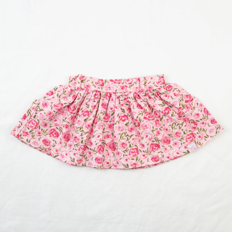 Garden Skirt - Covered in Roses Pink