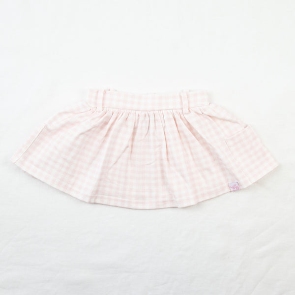Garden Skirt - Bubblegum Pink Gingham