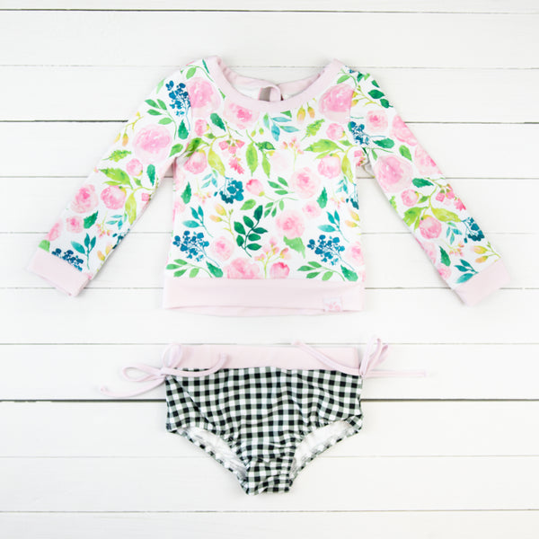 Micah Rash Guard - Fresh Blooms
