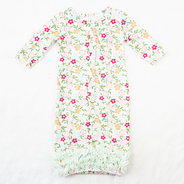 Dreamer Infant Gown - Bubbly Floral