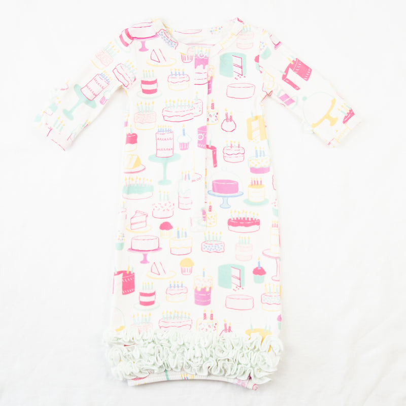 Dreamer Infant Gown - Happy Birthday