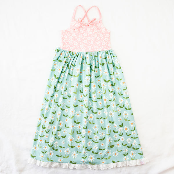 Dreamer Long Gown - Sunny Flowers