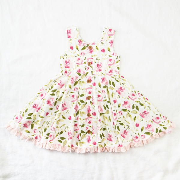 Prim Dress - Starbright Pink
