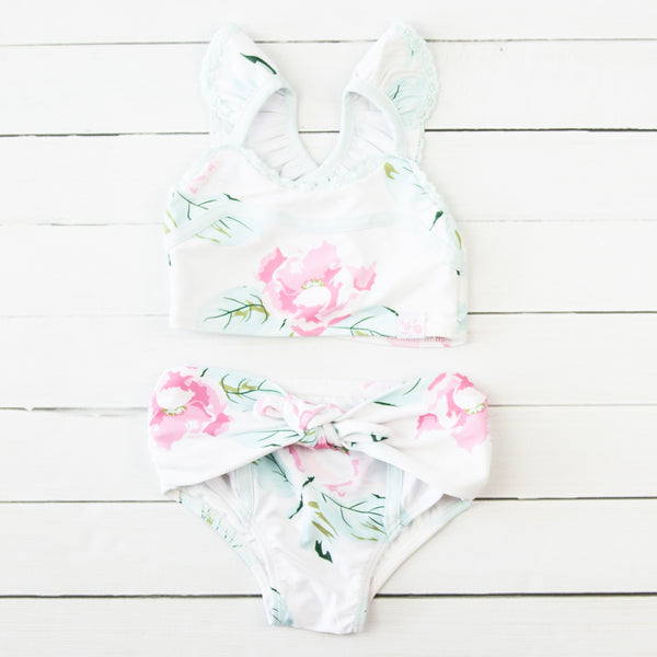 Retro Tankini - Fresh Rose