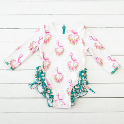 Solid Rash Guard - Pretty in Pink