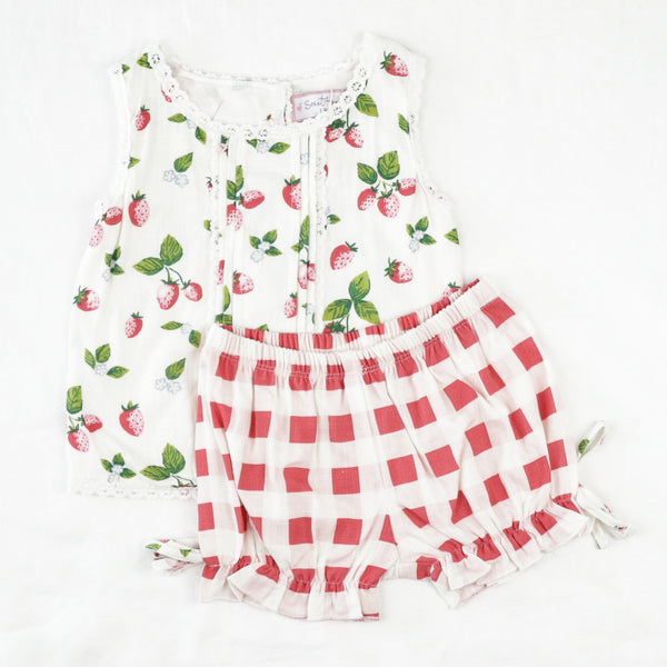 Playsuit Set - Sweet Strawberry