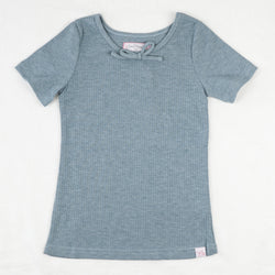 Lanie Layering Top - Dusty Blue