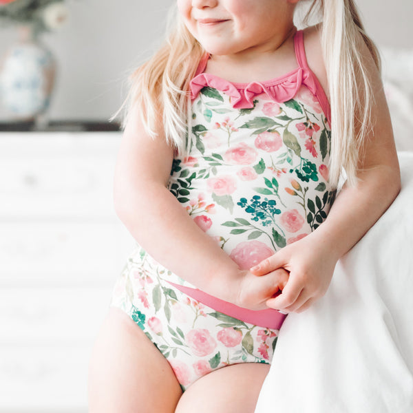 Cami Lounger Set - Fresh Blooms