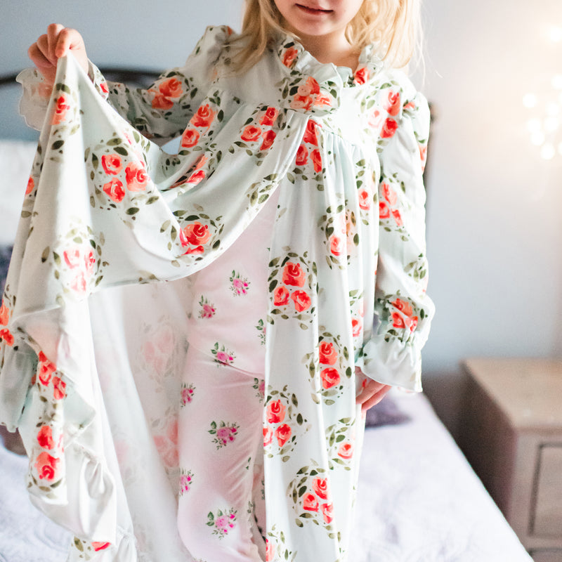 Sweet Ruffled Robe - Bright Day