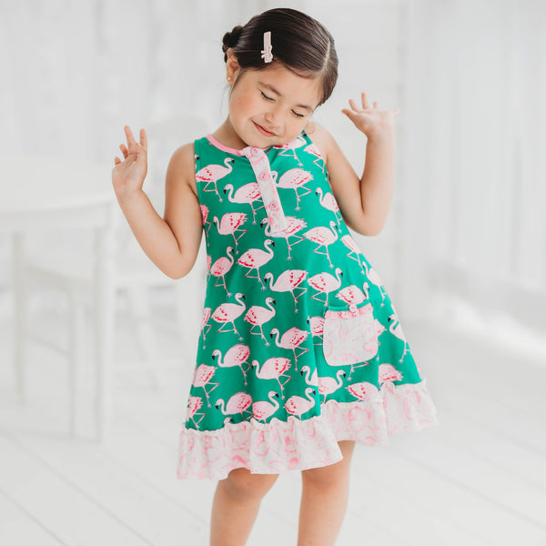 Dreamer Gown - Flamingo
