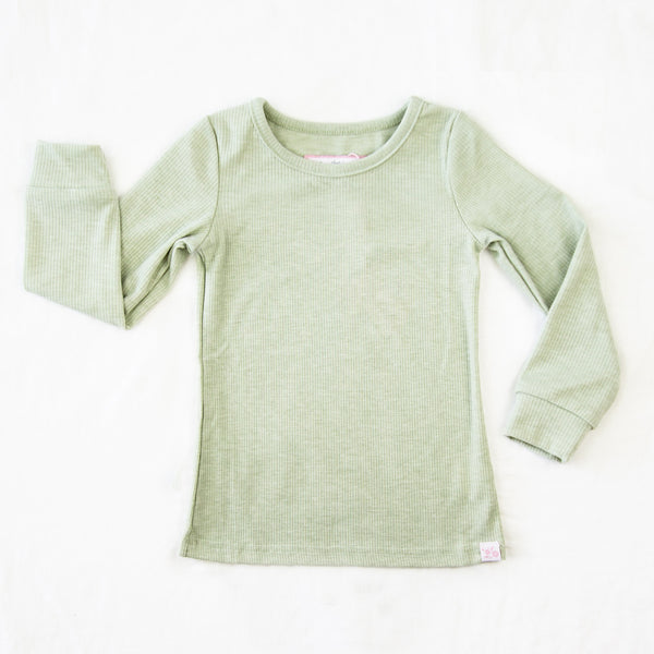 Lanie LS Layering Top - Clover