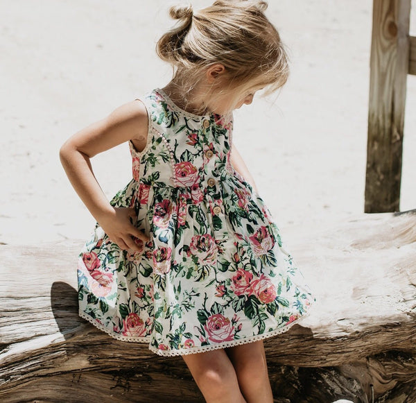 Nora Playsuit - Lovely Garden