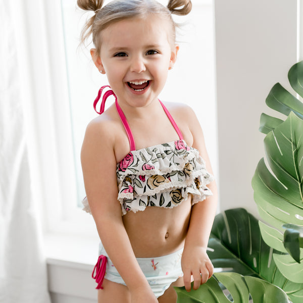 Milly Frilly Crop - Dragonfly