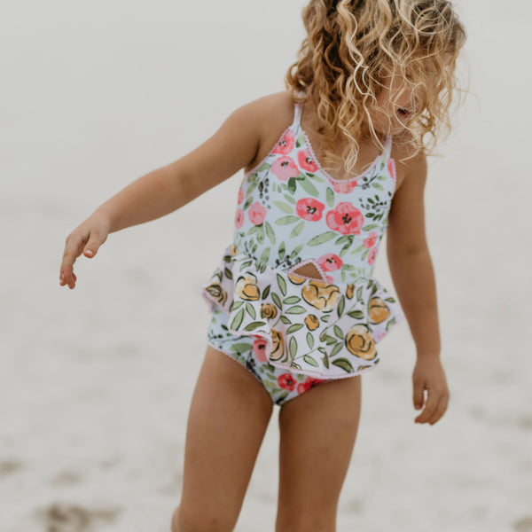 Morgan Skirted One Piece - Spring Dawn