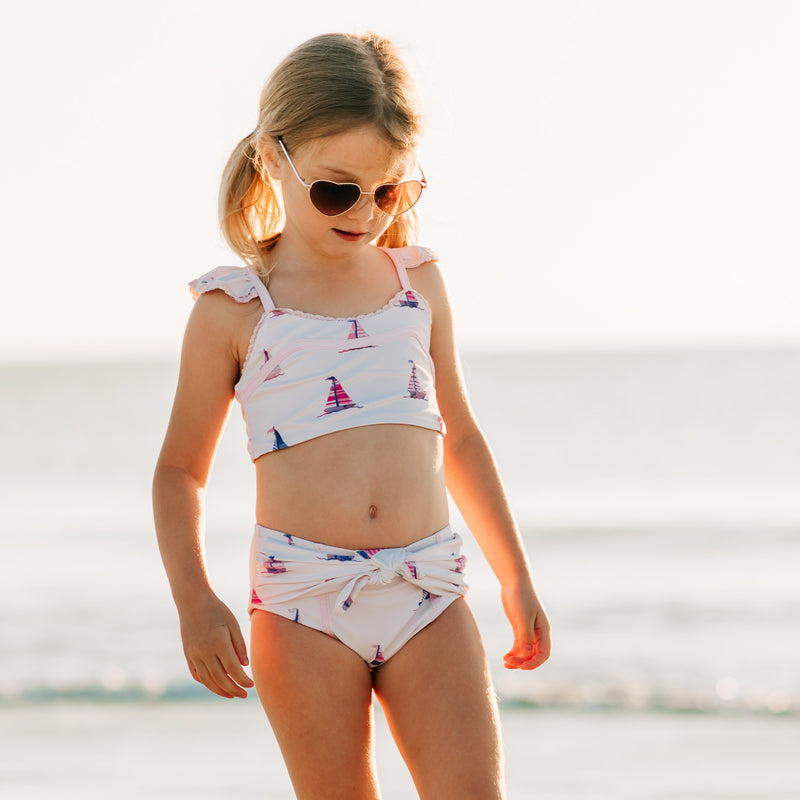 Retro Tankini - Sail Away