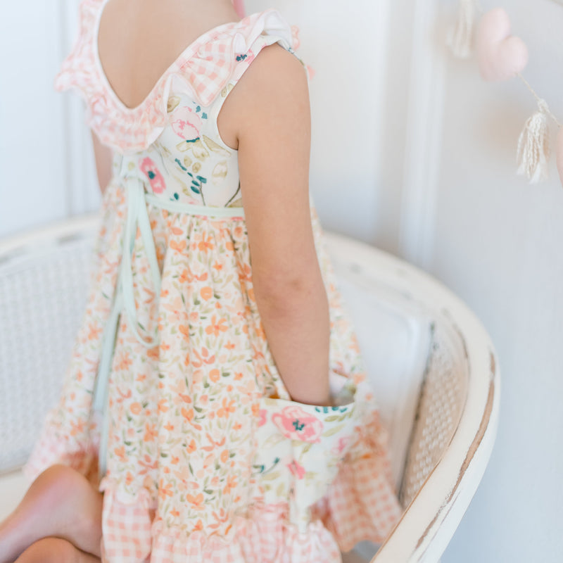 Flair Dress - Sweet Pink