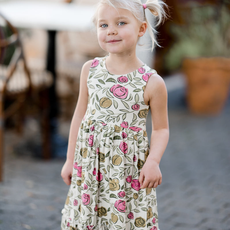 Sweet Dee Maxi - Pink Carefree Floral