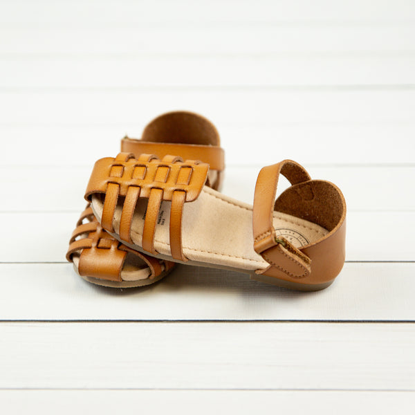 Huaraches Sandals - Brown