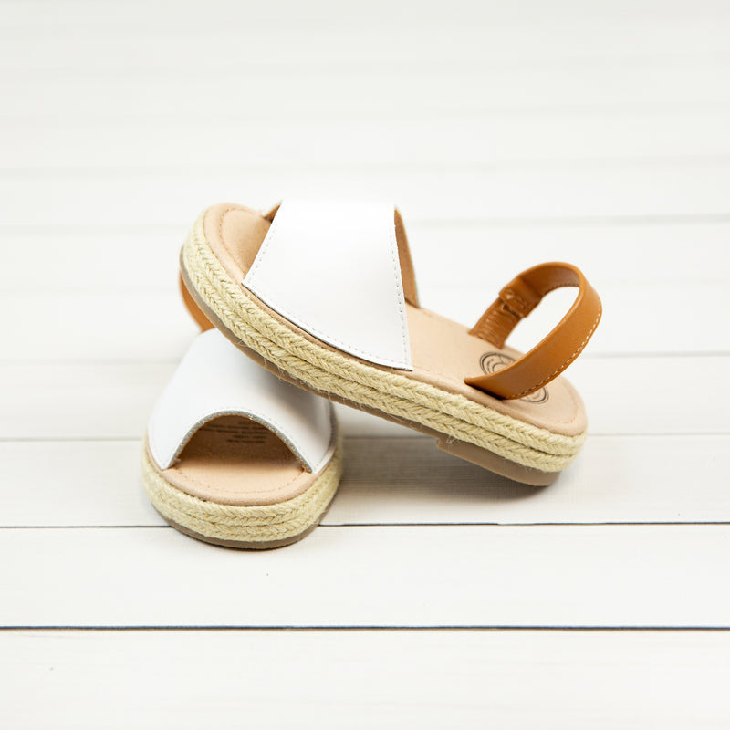 Palm Sandal - White