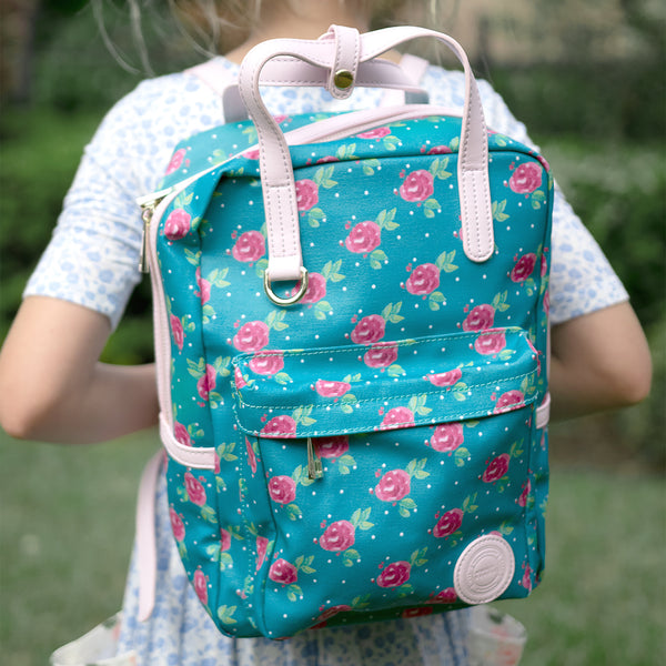 Avery Backpack - Dotty Floral - Final Sale