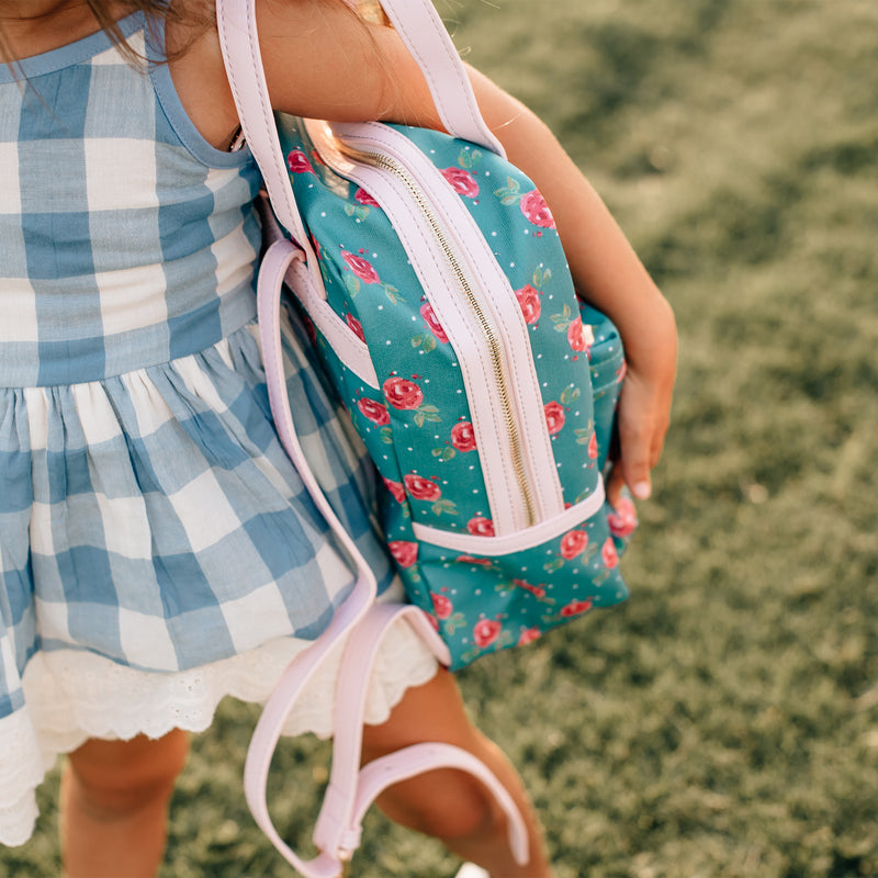 Avery Backpack - Dotty Floral