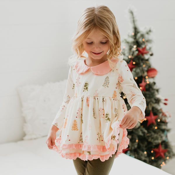 Belle Tunic - Christmas Tree
