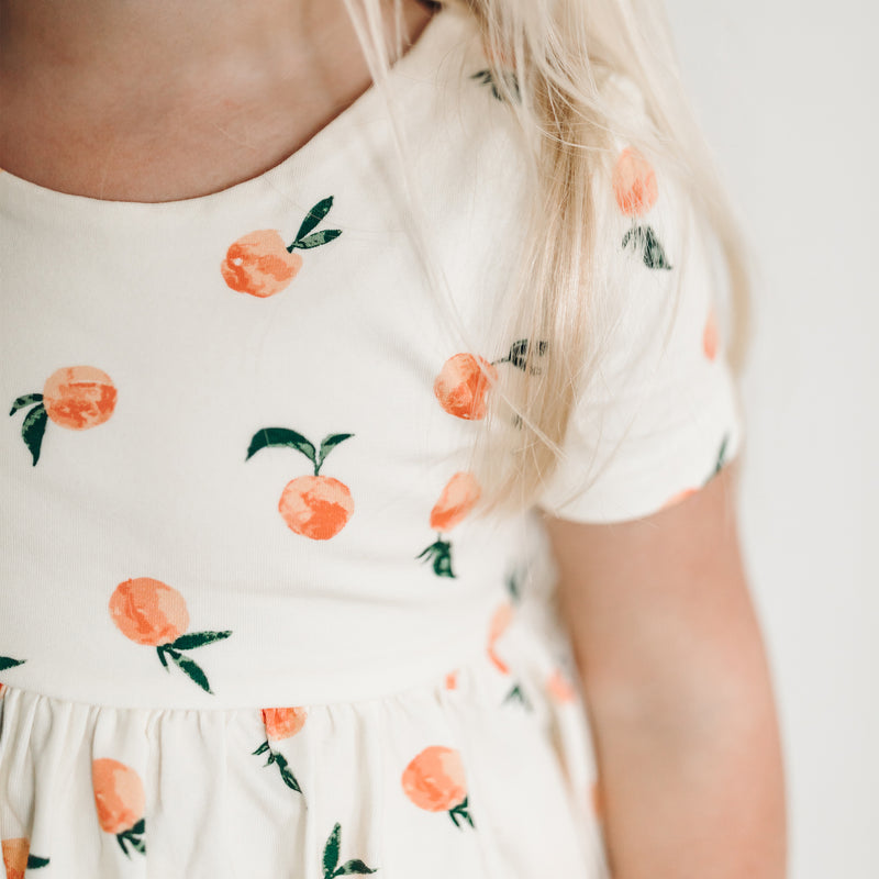 Belle Tunic - Peaches and Cream