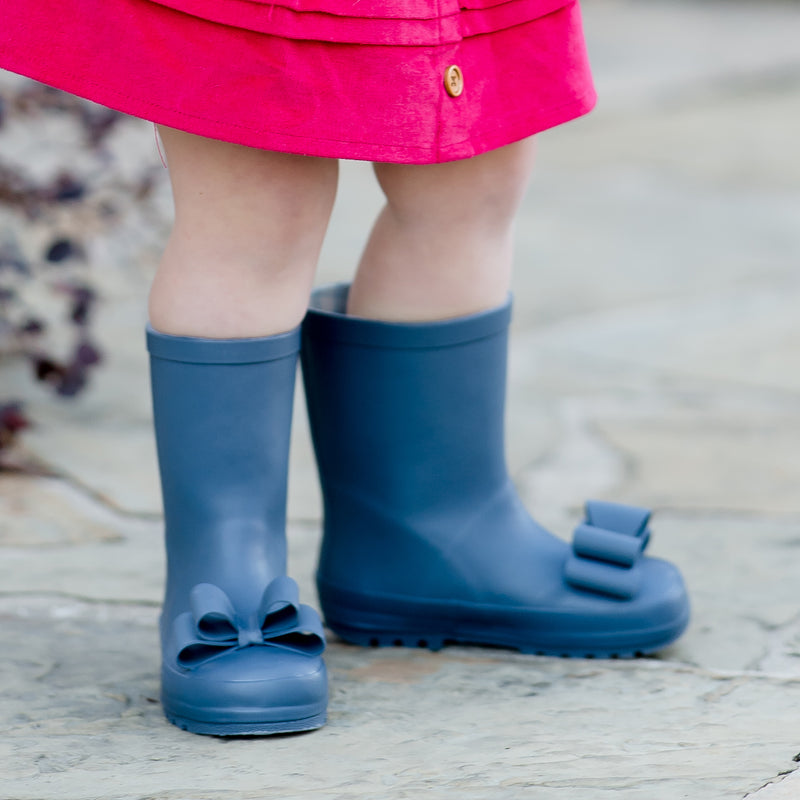 Cheery Rain Boot - Sea Blue
