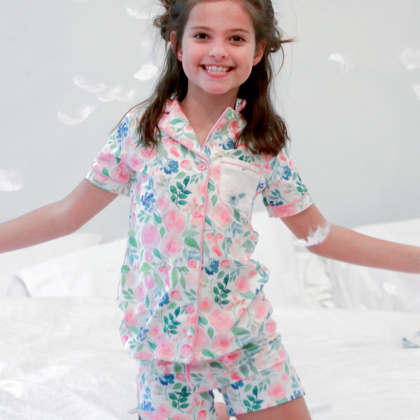 Girls Cozy PJ - Fresh Blooms