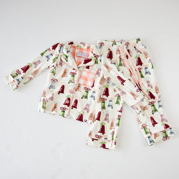 Kid's Cozy PJ - Christmas Bells - Final Sale