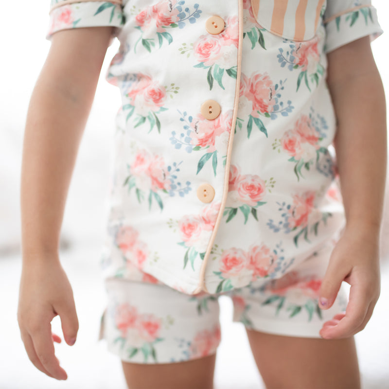 Girls Cozy PJ - Just Peachy