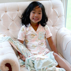 Girls Cozy PJ - Rose Gold - Final Sale