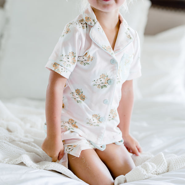 Girls Cozy PJ - Rose Gold