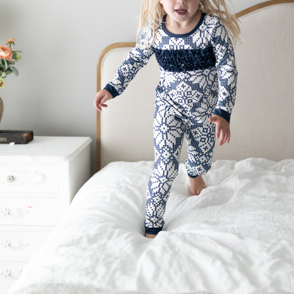 Dreamer 2-Piece - Sweater Snowflake Navy