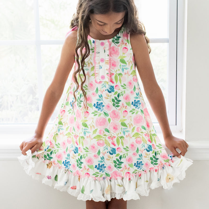 Dreamer Gown - Fresh Blooms