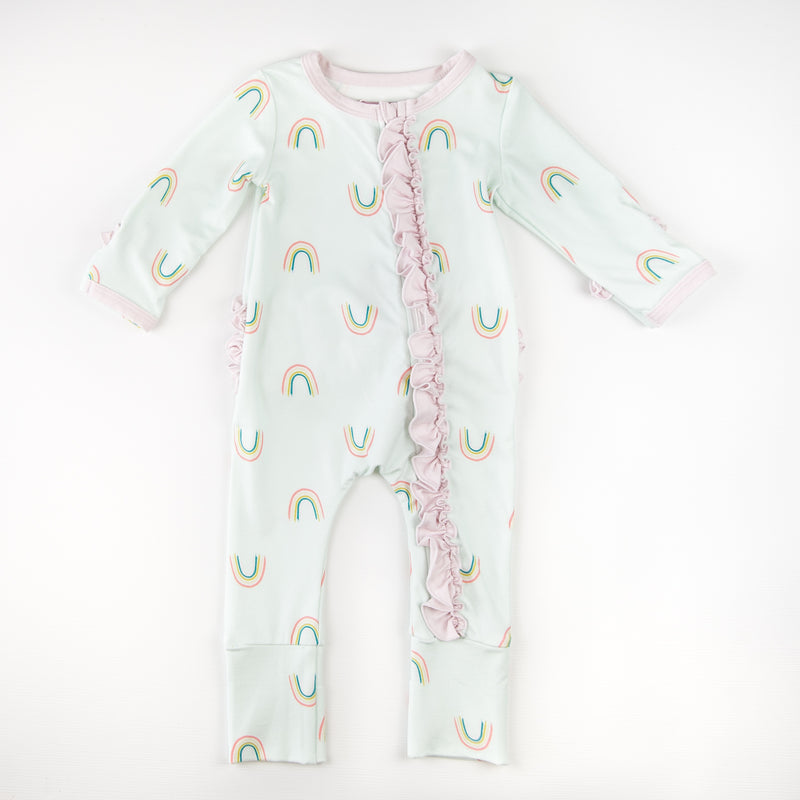 Dreamer Ruffled PJ - Lucky Charms - 18M-5Y