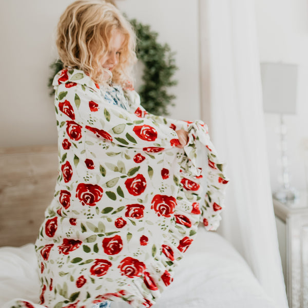 Dreamer Blanket - Red Rose