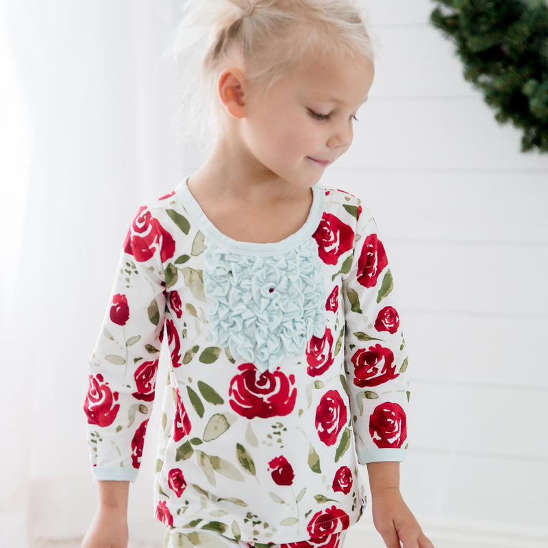 Dreamer Toddler 2-Piece - Red Rose - Final Sale