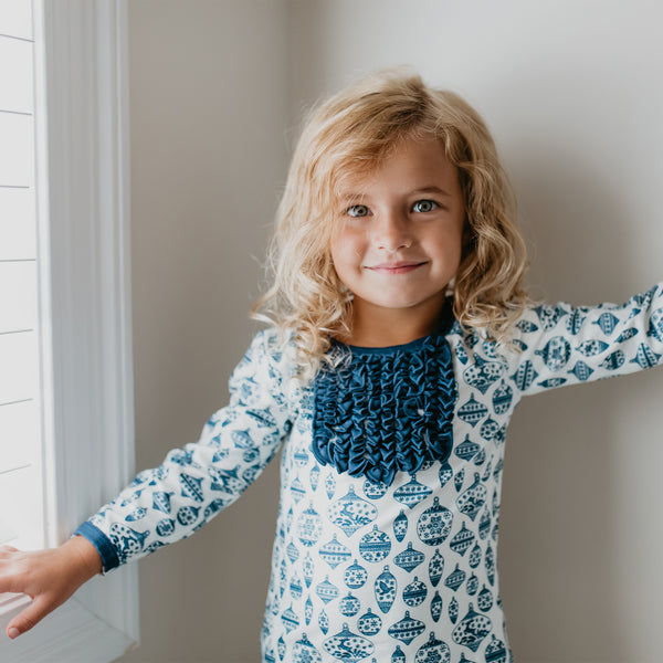 Dreamer Toddler 2-Piece - Vintage Ornaments Navy - Final Sale