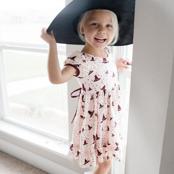 Flair Dress - Witches Hat - Final Sale