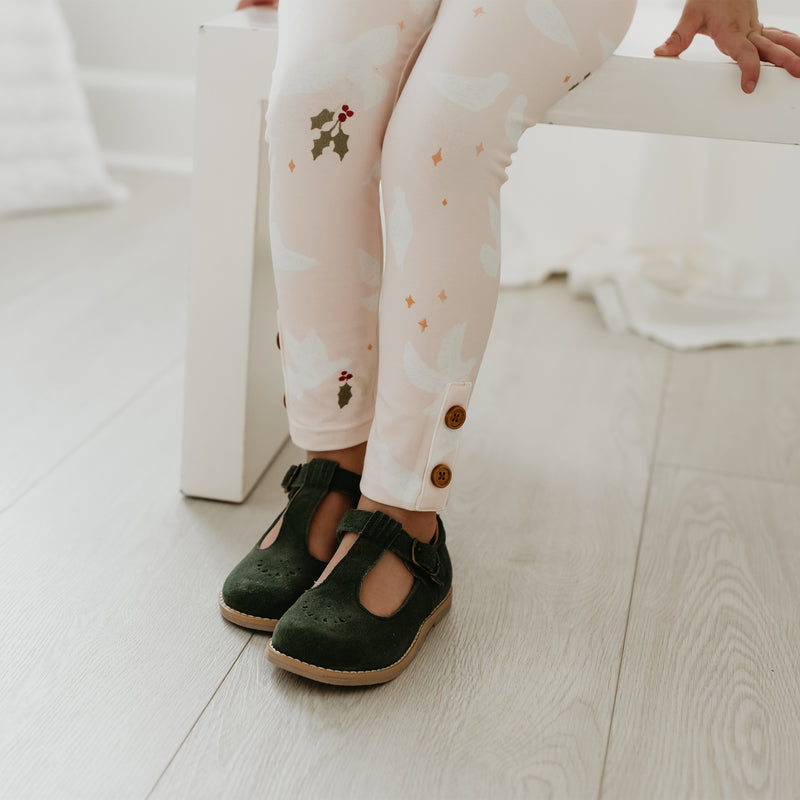 Frankie Leggings - Peace Dove - Final Sale